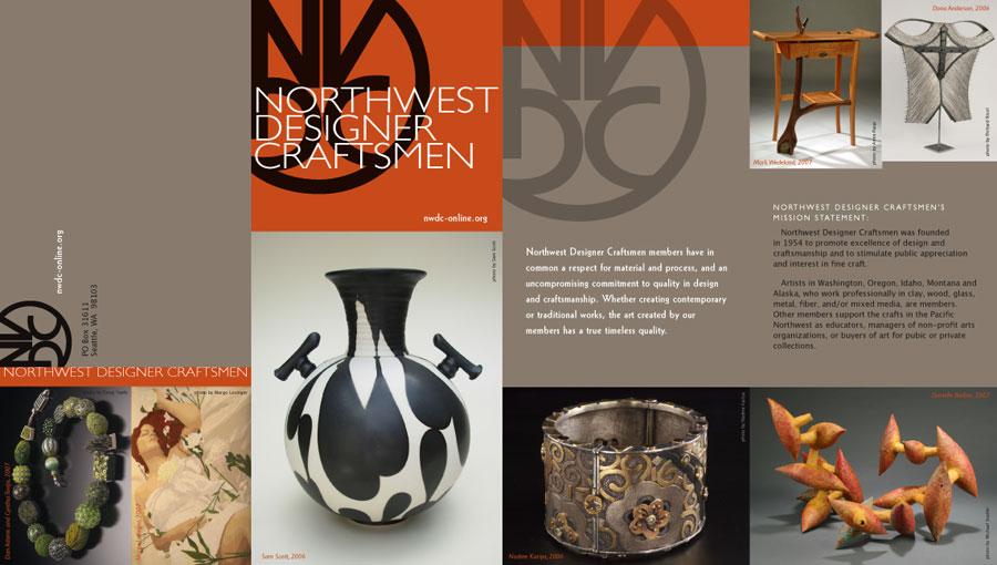 Northwest Designer Craftsmen Brochure Outside Spread