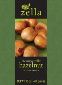 Zella Rogue Hazelnuts Packaging