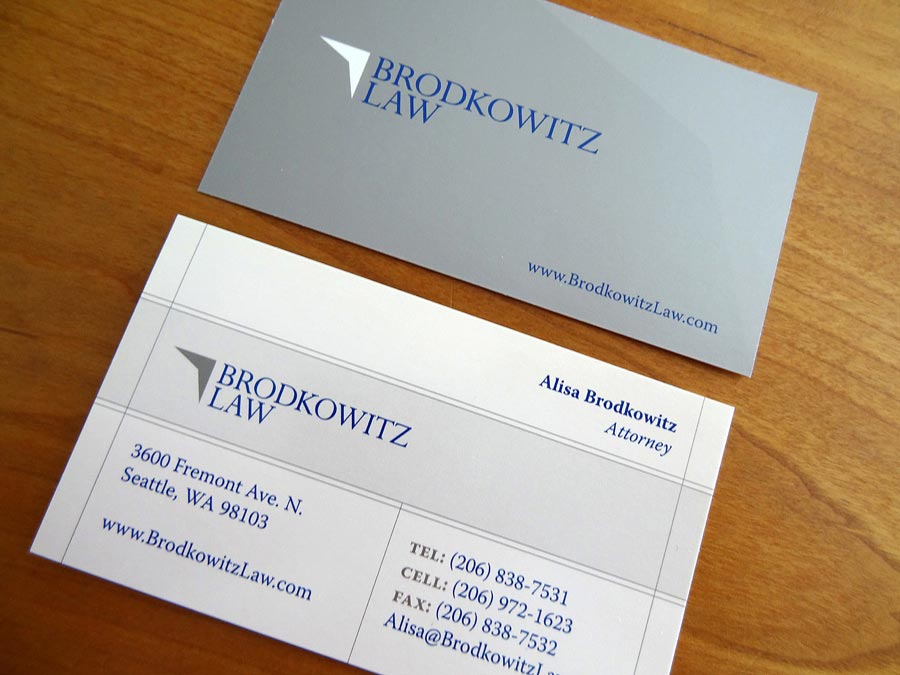 Brodkowitz Law Business Card
