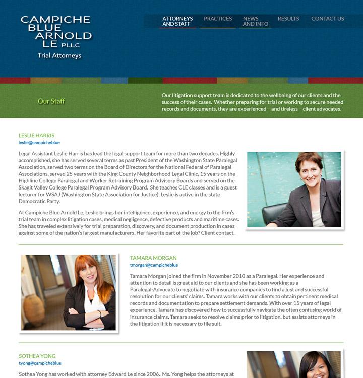 Campiche Blue Arnold Le Website Staff