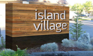 Island Village Monument Sign