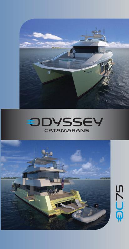 Odyssey Catamarans Brochure Cover