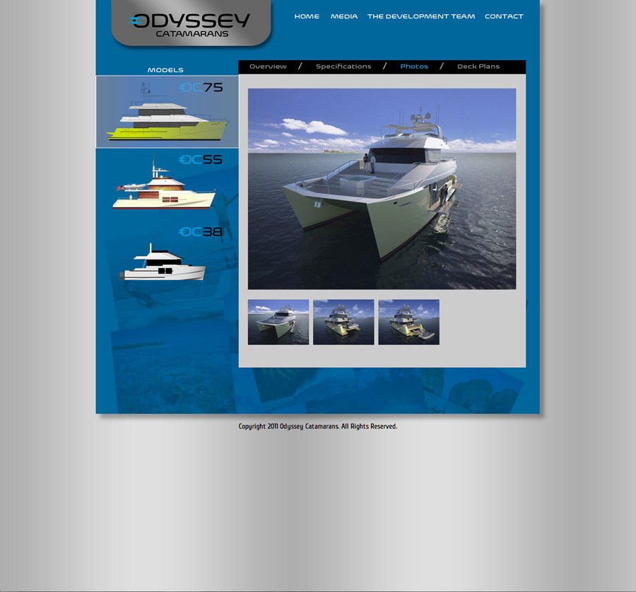 Odyssey Catamarans Website Photos
