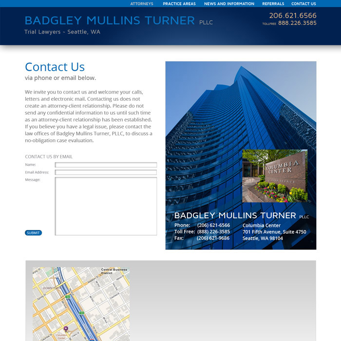 Badgley Mullins Turner Website Contact-Us